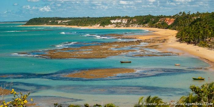 Resultado de imagem para extremo sul da bahia praias