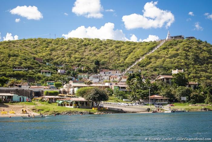 Vista da cidade de Piranhas, na margem Alagoana do Rio São Francisco.  - Photograph by Ricardo Junior /www.ricardojuniorfotografias.com.br