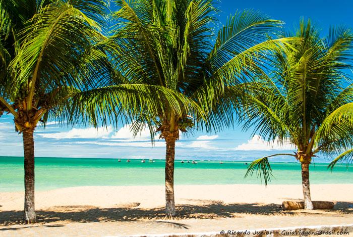 Japaratinga é a primeira praia da Rota Ecológica (vindo porMaragogi) e ,por ficar próxima a vila, é uma das mais movimentadas. Assim como a maioria das praias da Rota o mar é verde-água e na maré baixa é possível andar 500 metros mar adentro. - Photograph by Ricardo Junior / www.ricardojuniorfotografias.com.br