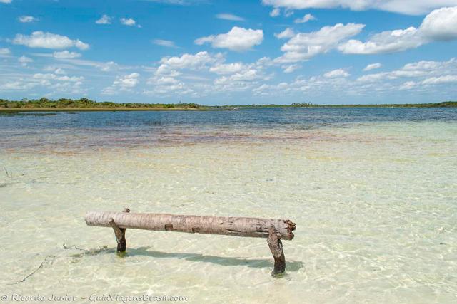 Águas cristalinas da Lagoa Azul, na Lagoa Jijoca. Photograph by Ricardo Junior / www.ricardojuniorfotografias.com.br