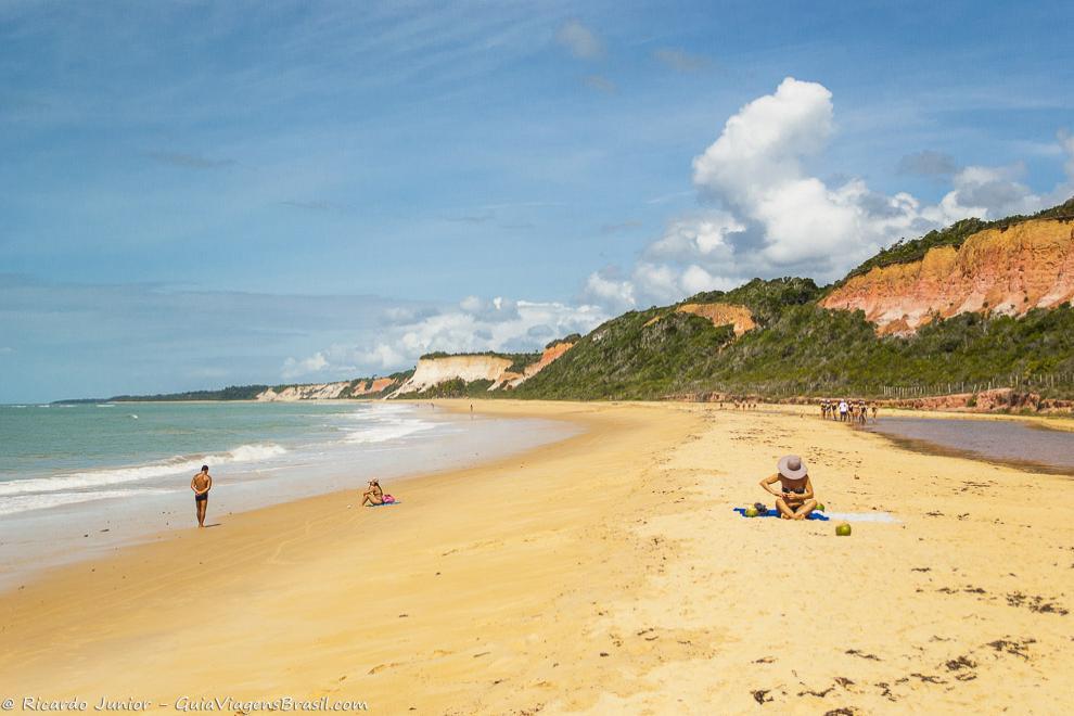 Praia de Pitinga, em Arraial D'Ajuda, na Bahia. Photograph by Ricardo Junior / www.ricardojuniorfotografias.com.br