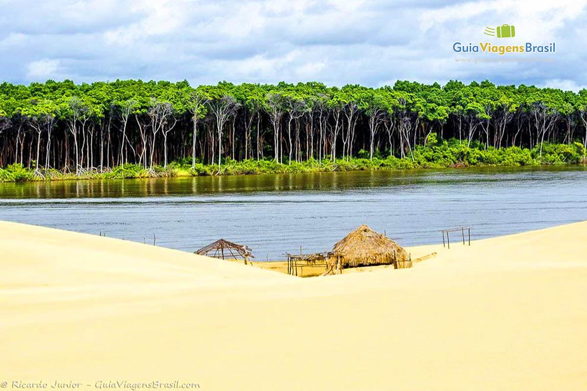 Foto rio preguiça, Lençóis Maranhenses - Foto: Ricardo Junior (www.ricardojuniorfotografias.com.br)