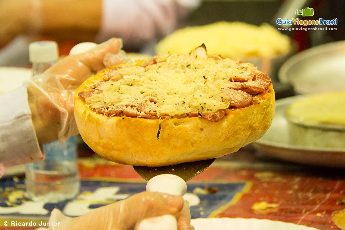Pratos típicos na Festa de Nossa Senhora Achiropita no Bixiga. - Fotos de Ricardo Junior / www.ricardojuniorfotografias.com.br