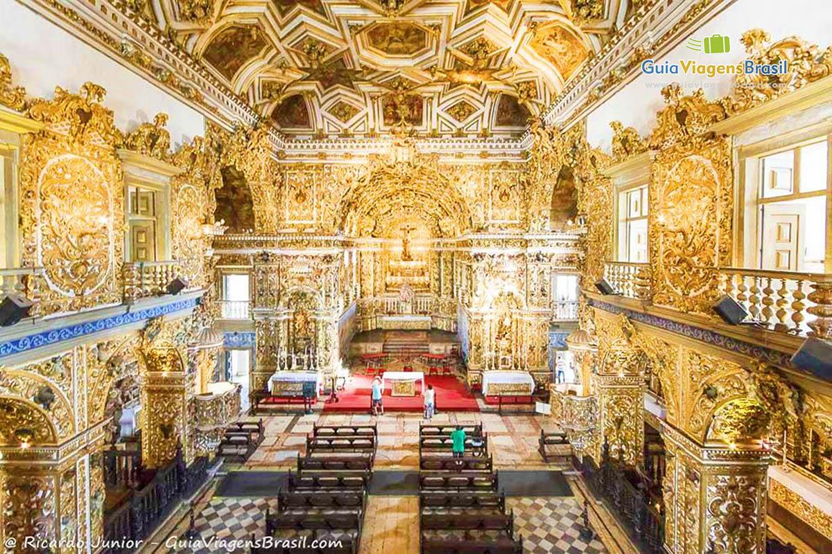 Toda beleza e riqueza da  Igreja de São Francisco, no Pelourinho, Salvador, BA. Fotos de Ricardo Junior / www.ricardojuniorfotografias.com.br