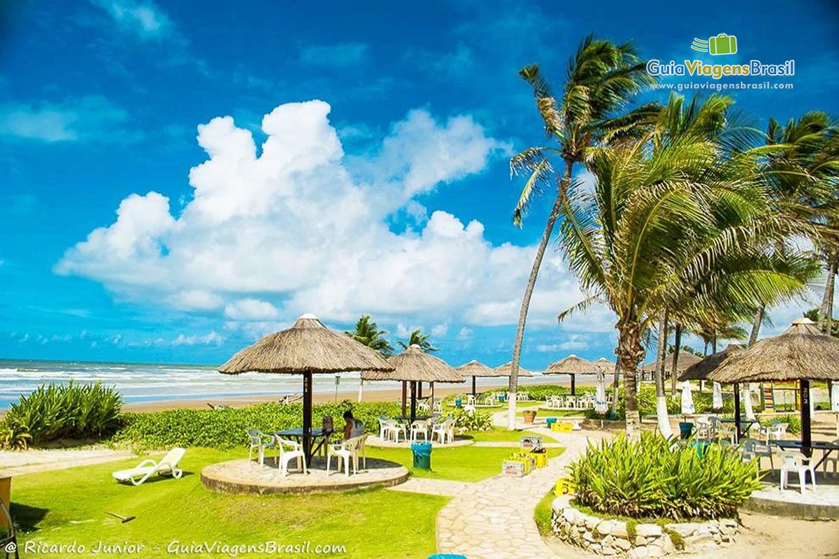 Bar na Praia do Refúgio, em Aracaju, SE. Fotos de Ricardo Junior / www.ricardojuniorfotografias.com.br