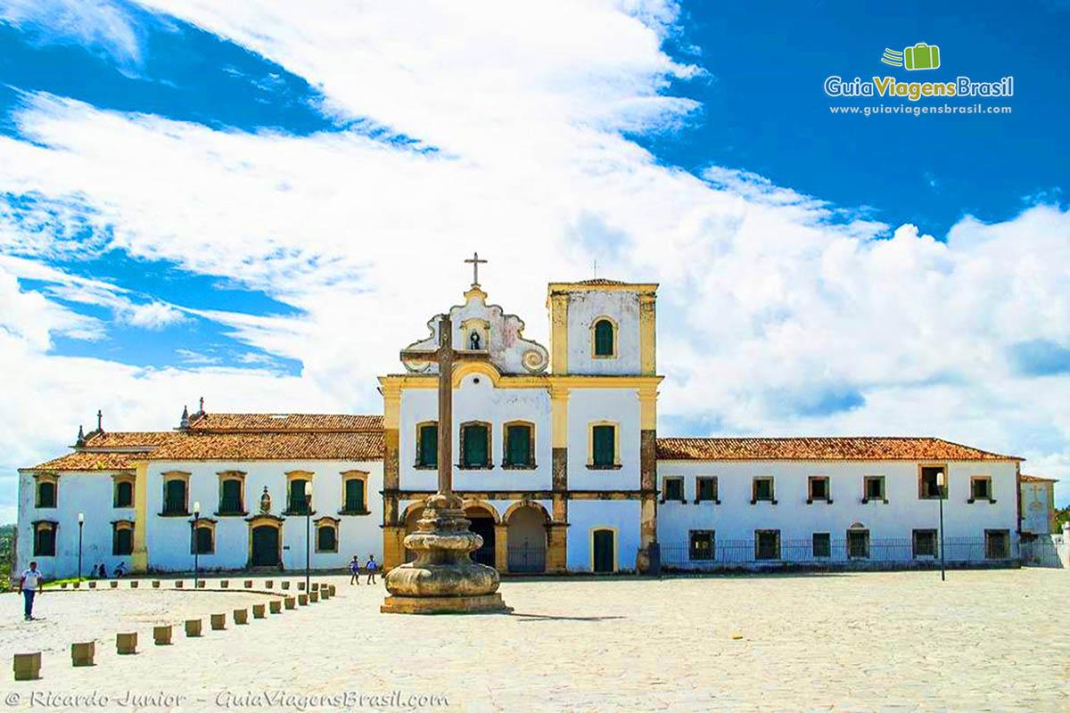 Convento e Igreja de São Francisco, em São Cristóvão, SE. Fotos de Ricardo Junior / www.ricardojuniorfotografias.com.br