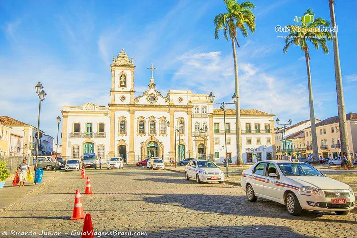 Praça 15 de Novembro, conhecida como Terreiro de Jesus, no Pelourinho, em Salvador, BA. Fotos de Ricardo Junior / www.ricardojuniorfotografias.com.br