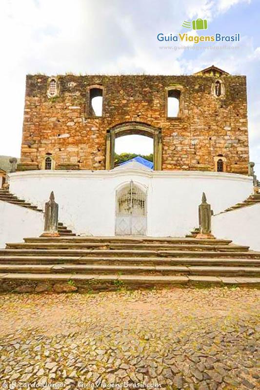 Imagem da igreja nossa senhora do Rosário, em Sabará. - Fotos de Ricardo Junior / www.ricardojuniorfotografias.com.br