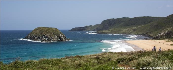 Foto da Praia do Leão em Fernando de Noronha, Pernambuco. - Photograph by Ricardo Junior / www.ricardojuniorfotografias.com.br