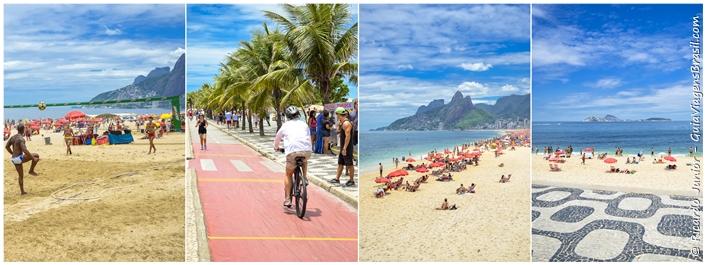 Fotos da Praia de Ipanema no Rio de Janeiro - Photograph by Ricardo Junior / www.ricardojuniorfotografias.com.br