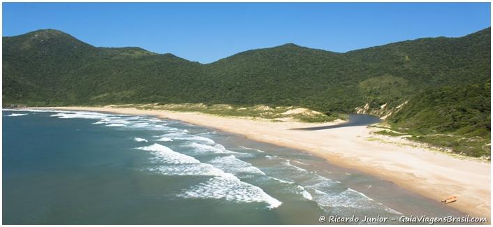 Foto da Praia da Lagoinha do Leste em Florianópolis, Santa Catarina - Photograph by Ricardo Junior / www.ricardojuniorfotografias.com.br