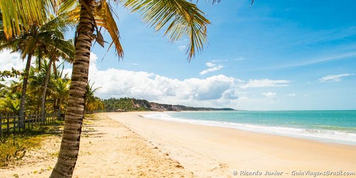 Foto da praia do Rio da Barra, em Trancoso, Bahia - Photograph by Ricardo Junior / www.ricardojuniorfotografias.com.br