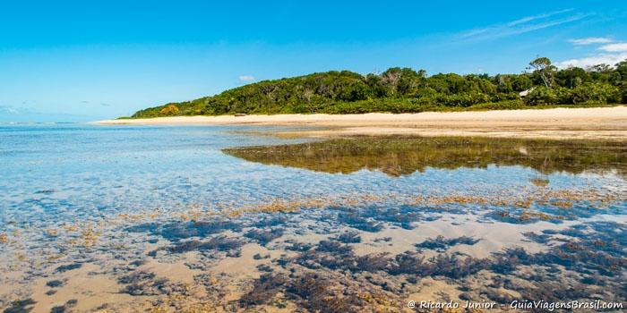 Foto da Ponta de Itapororoca, em Trancoso - BA - Photograph by Ricardo Junior / www.ricardojuniorfotografias.com.br