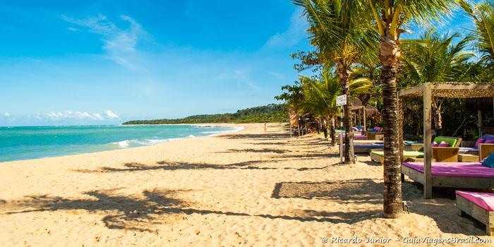 Foto da praia do Rio Verde, em Trancoso - Bahia - Photograph by Ricardo Junior / www.ricardojuniorfotografias.com.br