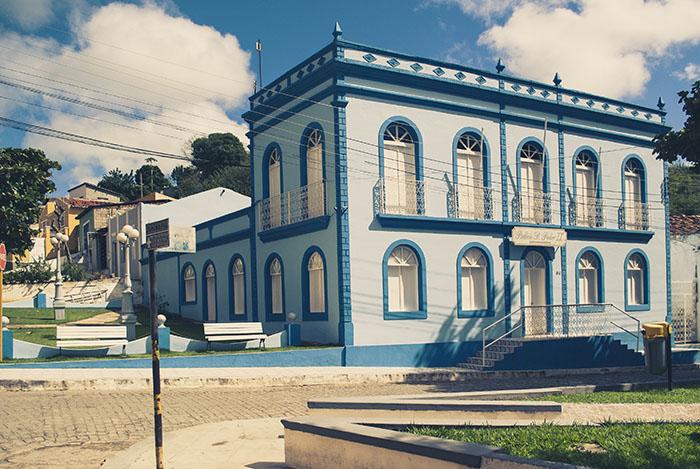 Antiga prefeitura de Piranhas, hoje chamada de Palácio Dom Pedro II - Photograph by Ricardo Junior /www.ricardojuniorfotografias.com.br