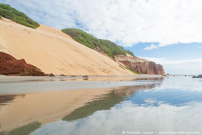 Foto Praia de Ponta Grossa, CE.