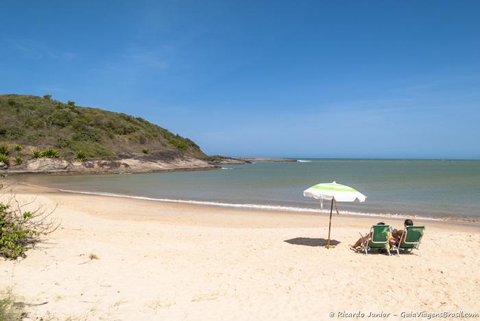 Foto Praia da Bacutia, em Guarapari, Espiríto Santo - Photograph by Ricardo Junior / www.ricardojuniorfotografias.com.br