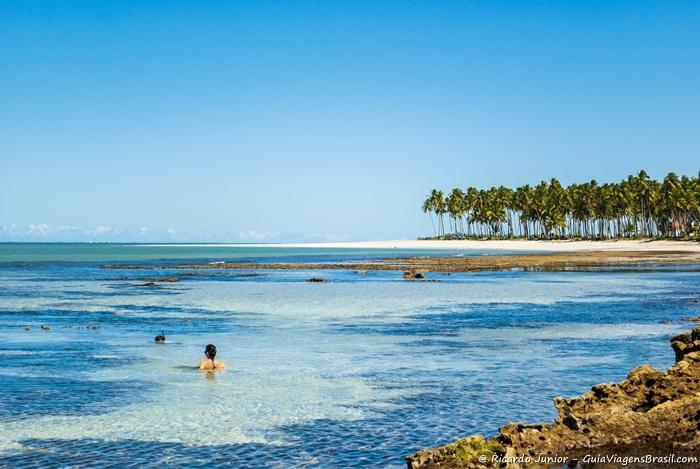 Foto da Praia dos Carneiros, em Tamandaré, Pernambuco - Photograph by Ricardo Junior /www.ricardojuniorfotografias.com.br
