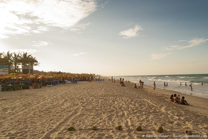 Foto da praia do Futuro em Fortaleza, Ceará -  Photograph by Ricardo Junior / www.ricardojuniorfotografias.com.br