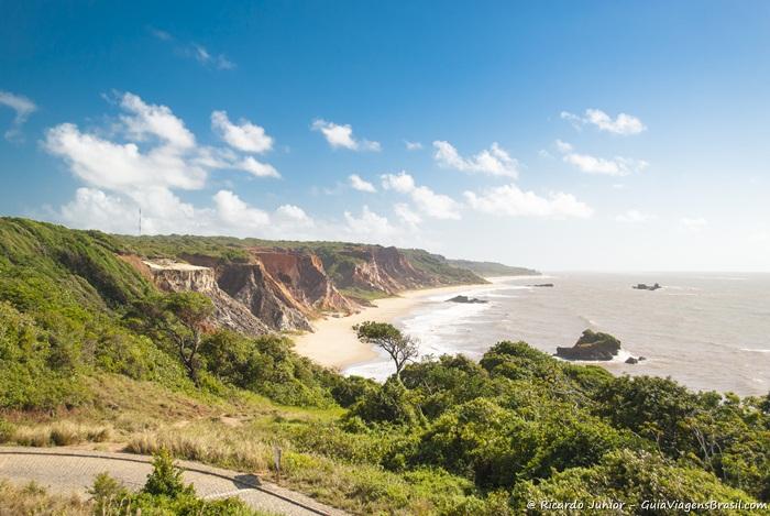 Foto da praia de Tambaba, na Paraíba - Photograph by Ricardo Junior / www.ricardojuniorfotografias.com.br