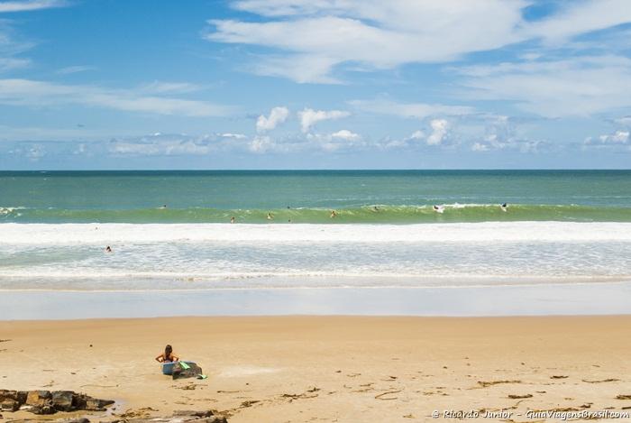 Foto da Praia da Tiririca, em Itacaré, Bahia - Photograph by Ricardo Junior / www.ricardojuniorfotografias.com.br