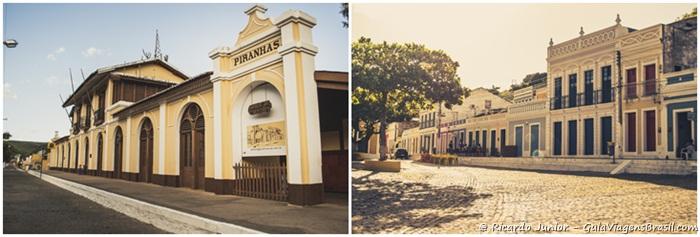 Na antiga estação ferroviária existe hoje o Museu do Sertão onde estão as fotos das cabeças de Lampião e Maria Bonita que foram expostas como troféus em Piranhas / Construções Históricas de Piranhas, Alagoas. - Photograph by Ricardo Junior / www.ricardojuniorfotografias.com.br
