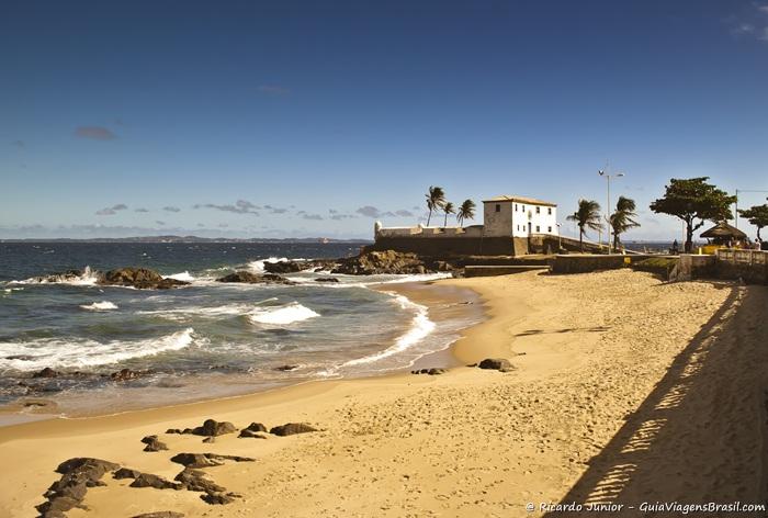Foto da Praia de Porto da Barra, Salvador, Bahia - Photograph by Ricardo Junior / www.ricardojuniorfotografias.com.br