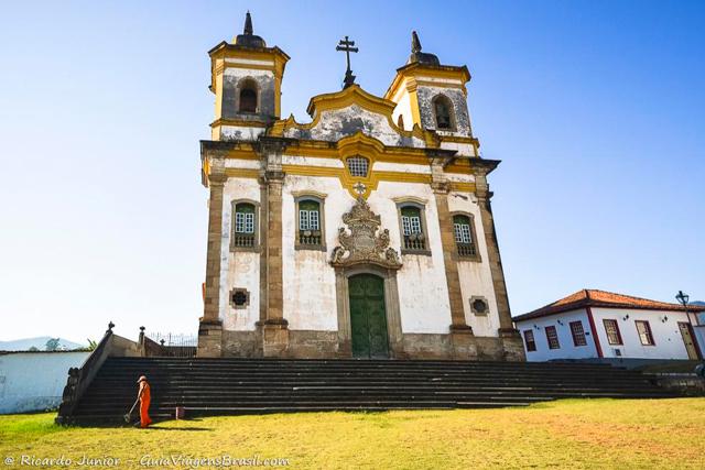 Igreja São Francisco de Assis, em Mariana. Photograph by Ricardo Junior / www.ricardojuniorfotografias.com.br