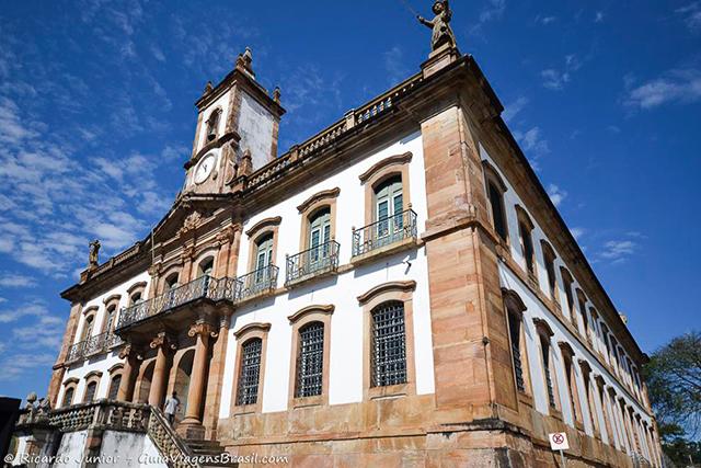 Museu da Inconfidência, em Ouro Preto. Photograph by Ricardo Junior / www.ricardojuniorfotografias.com.br