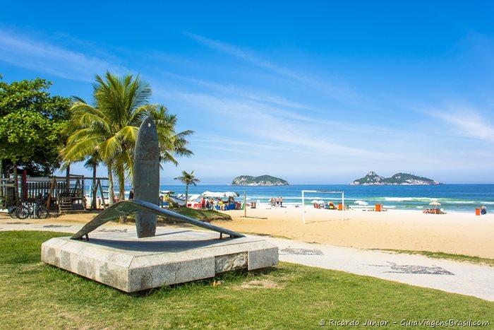 Foto Praia do Pepê, na Barra da Tijuca, Rio de Janeiro - Photograph by Ricardo Junior / www.ricardojuniorfotografias.com.br