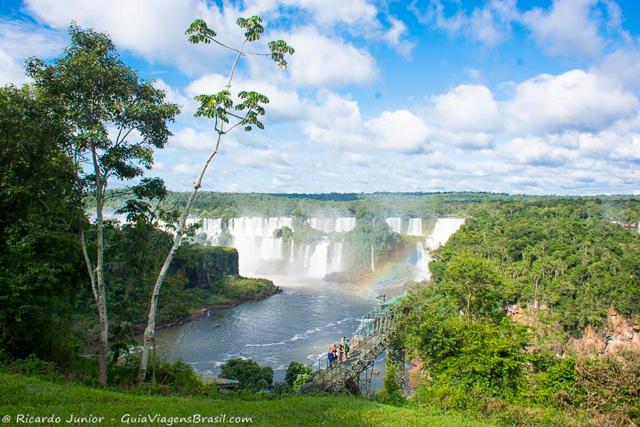 Parque Nacional do Iguaçu, que abriga as cataratas, em Foz do Iguaçu, Paraná. Photograph by Ricardo Junior / www.ricardojuniorfotografias.com.br
