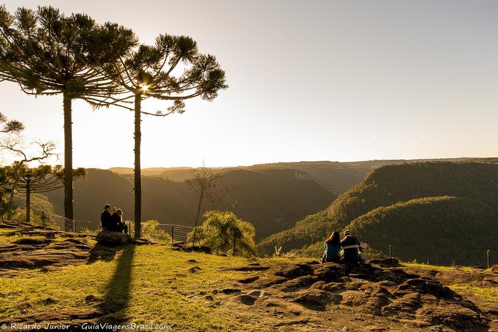 Mirante do cânion do Rio Caí, no Parque da Ferradura, em Canela, Rio Grande do Sul. Photograph by Ricardo Junior / www.ricardojuniorfotografias.com.br