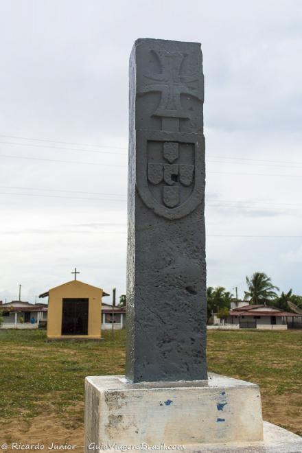 Monumento do Marco Colonial do Brasil, na Praia Arraial do Marco, em São Miguel do Gostoso, RN. Photograph by Ricardo Junior / www.ricardojuniorfotografias.com.br