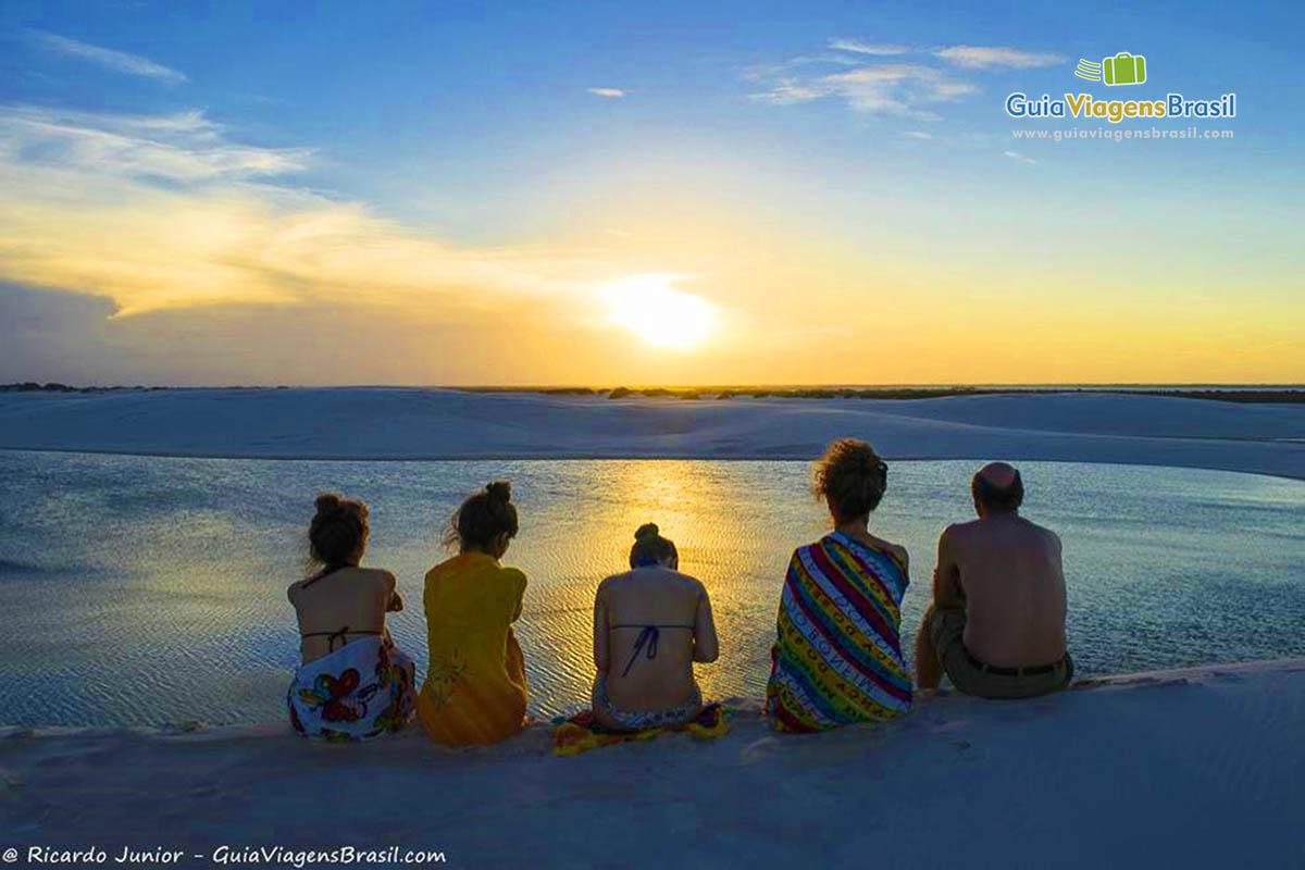 Foto Pôr do Sol em Santo Amaro do Maranhão, Lençóis Maranhenses - Foto: Ricardo Junior (www.ricardojuniorfotografias.com.br)