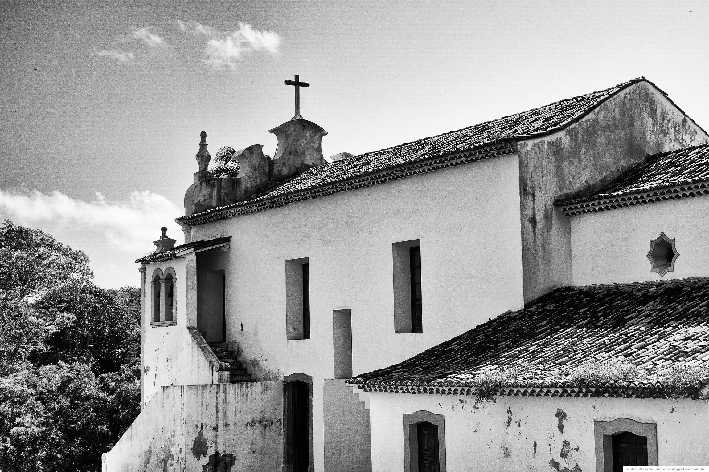 Igreja de Nossa Senhora dos Remédios, em Fernando de Noronha – Foto: Ricardo Junior