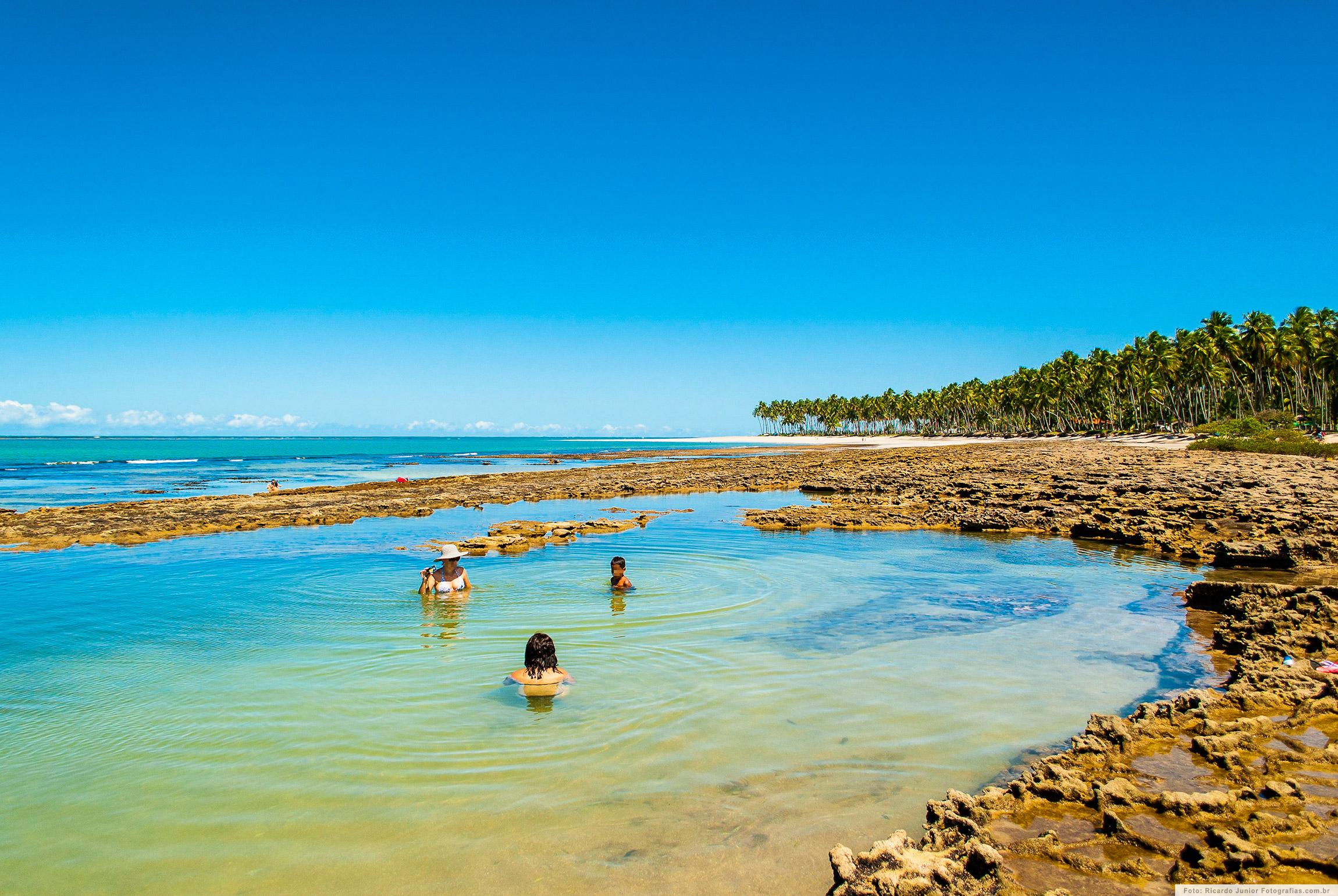 Piscinas Naturais da Praia dos Carneiros, em Pernambuco