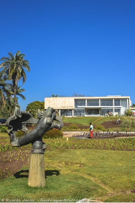 Construído como cassino hoje o prédio abriga o Museu de Arte da Pampulha, em Belo Horizonte. Fotos de Ricardo Junior / www.ricardojuniorfotografias.com.br