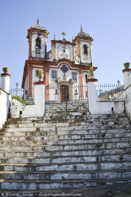 Igreja Matriz de Nossa Senhora da Conceição, em Ouro Preto, projeto de Aleijadinho. Fotos de Ricardo Junior / www.ricardojuniorfotografias.com.br