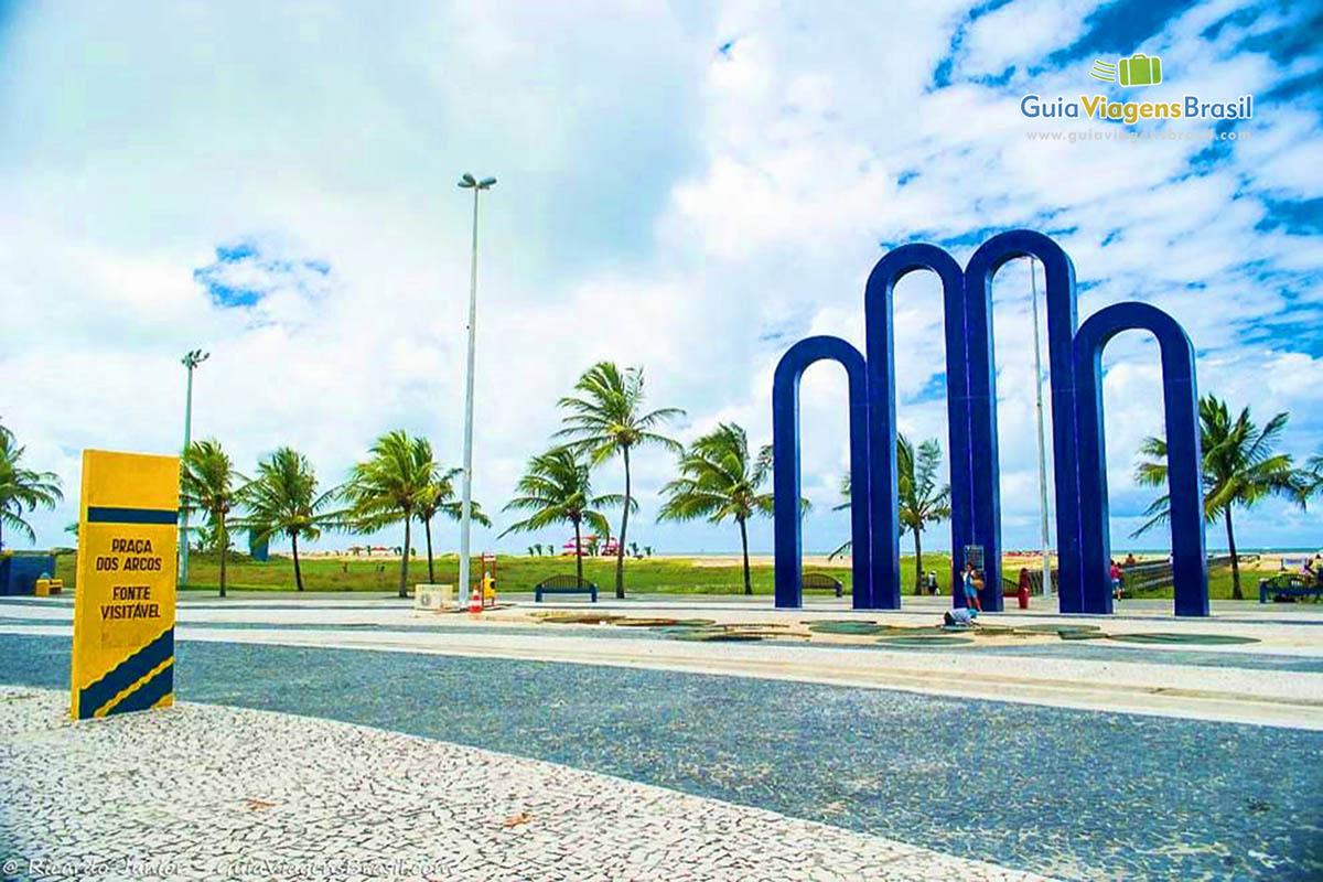 Arcos da Praia de Atalaia, um dos cartões-postais de Aracaju, SE. <br /> Fotos de Ricardo Junior / www.ricardojuniorfotografias.com.br