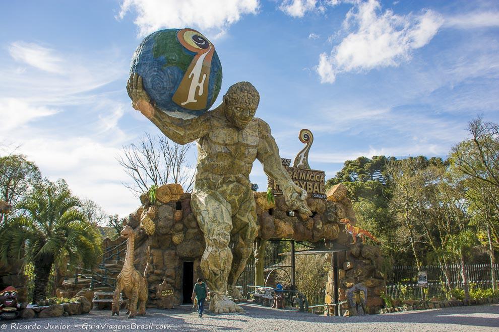 Parque Terra Mágica Florybal, em Gramado, Rio Grande do Sul. <br /> Fotos de Ricardo Junior / www.ricardojuniorfotografias.com.br