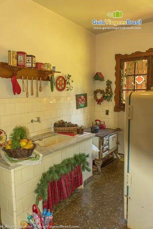 Aldeia do Papai Noel, em Gramado, RS.