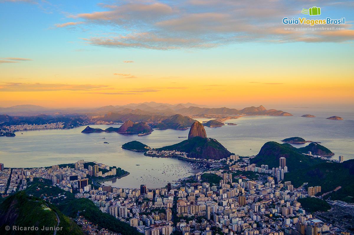 Foto vista panorâmica do Rio de Janeiro - Fotos de Ricardo Junior / www.ricardojuniorfotografias.com.br
