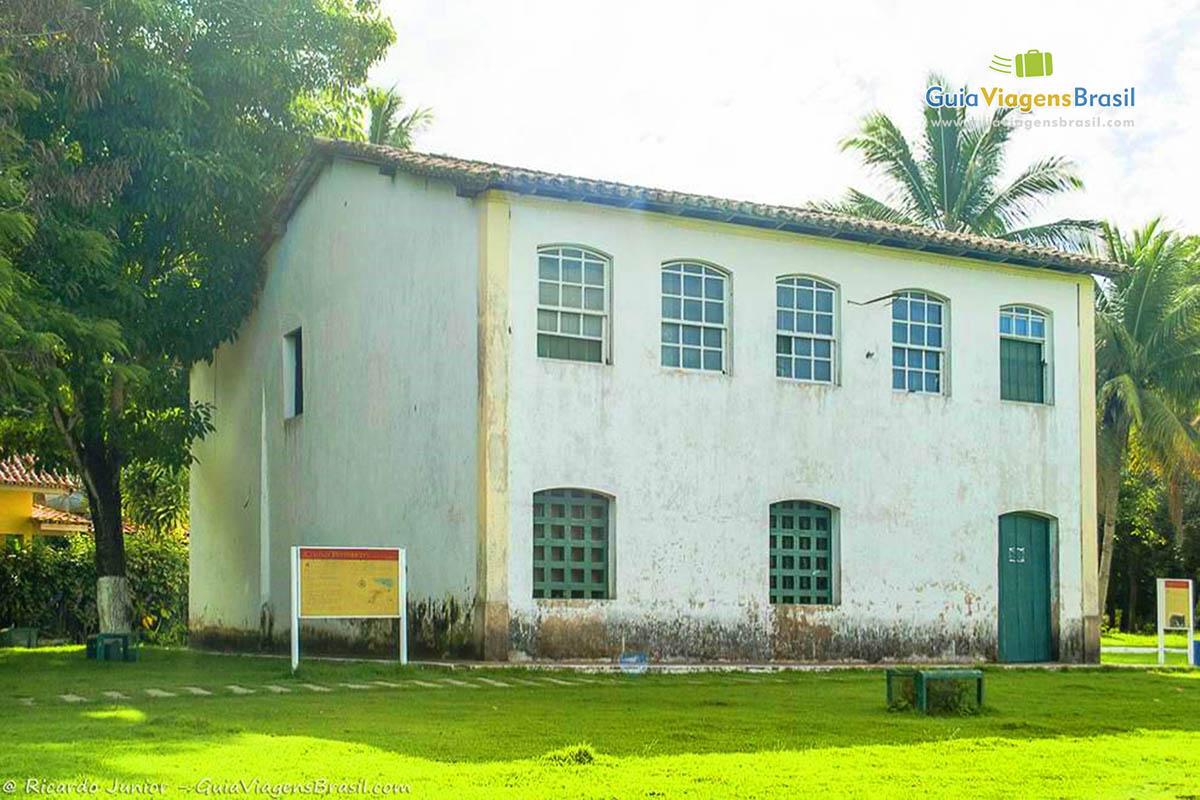 Casa de Câmara e Cadeia, no centro de Santa Cruz de Cabrália, BA. Fotos de Ricardo Junior / www.ricardojuniorfotografias.com.br