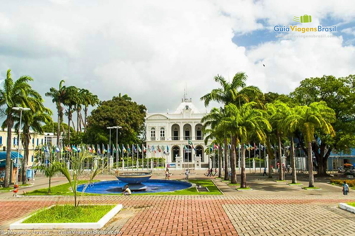 Palácio Marechal Floriano Peixoto, no Centro Histórico de Maceió, AL. Fotos de Ricardo Junior / www.ricardojuniorfotografias.com.br