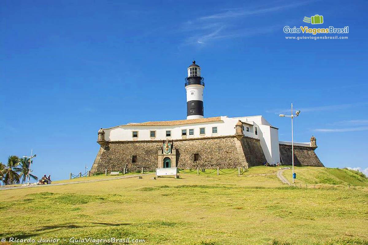 Forte ou Farol da Barra, em Salvador, BA. <br /> Fotos de Ricardo Junior / www.ricardojuniorfotografias.com.br