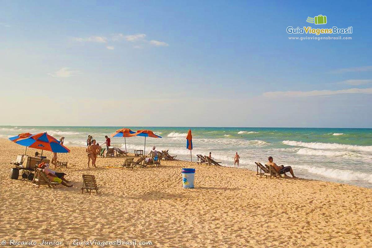 Praia do Futuro, a mais movimentada em Fortaleza, CE. Fotos de Ricardo Junior / www.ricardojuniorfotografias.com.br