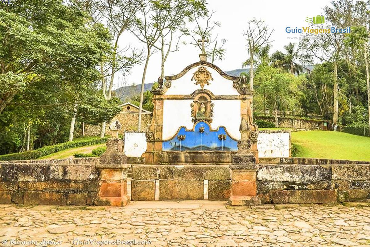 Chafariz de São José, um dos mais belos remanescentes de construções públicas, em Tiradentes, MG. Fotos de Ricardo Junior / www.ricardojuniorfotografias.com.br