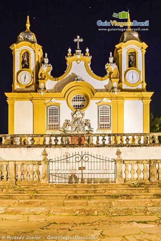 Igreja Matriz de Santo Antônio, destaque entre os patrimônios históricos de Tiradentes, MG. Fotos de Ricardo Junior / www.ricardojuniorfotografias.com.br