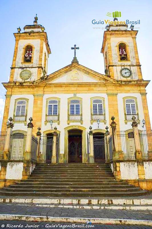 Igreja Matriz de Nossa Senhora do Pilar, tombada como patrimônio histórico nacional, em São João Del Rei, MG. Fotos de Ricardo Junior / www.ricardojuniorfotografias.com.br