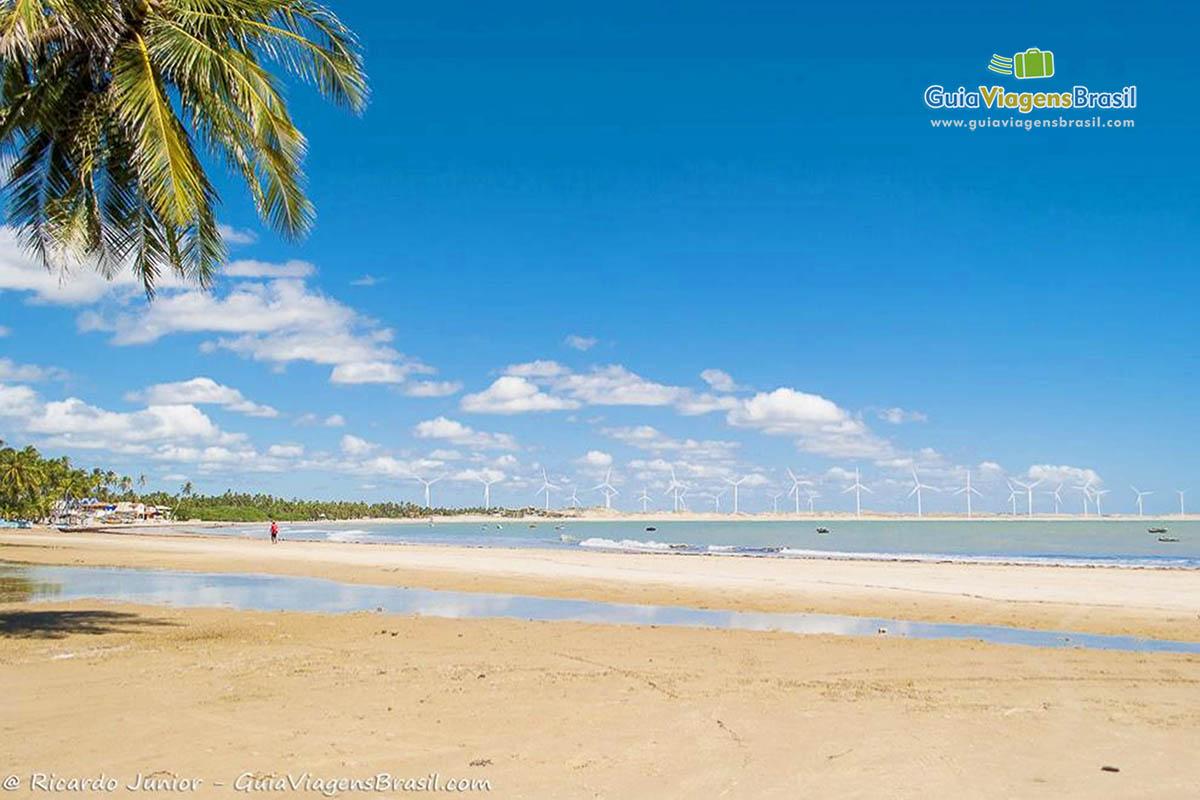 Foto Praia de Icaraí de Amontada, Ceará.